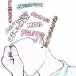 Mahasiswa dalam Politik/ Ilustrasi: Abdullah Adnan Al-rasyid