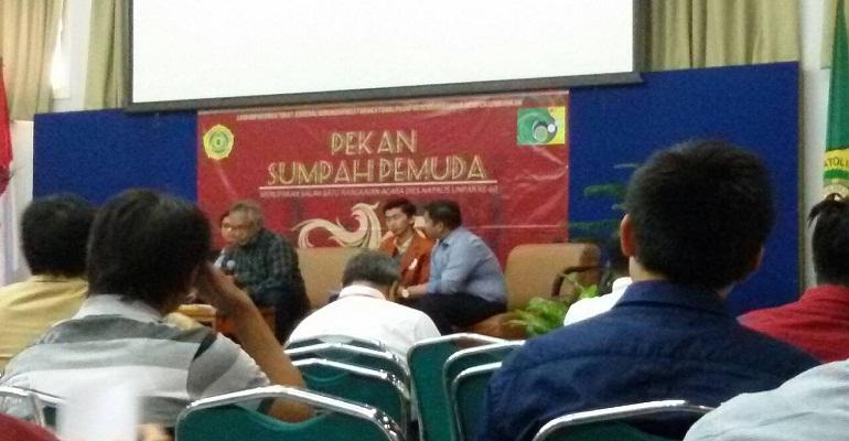 Diskusi Pekan Sumpah Pemuda 2014
