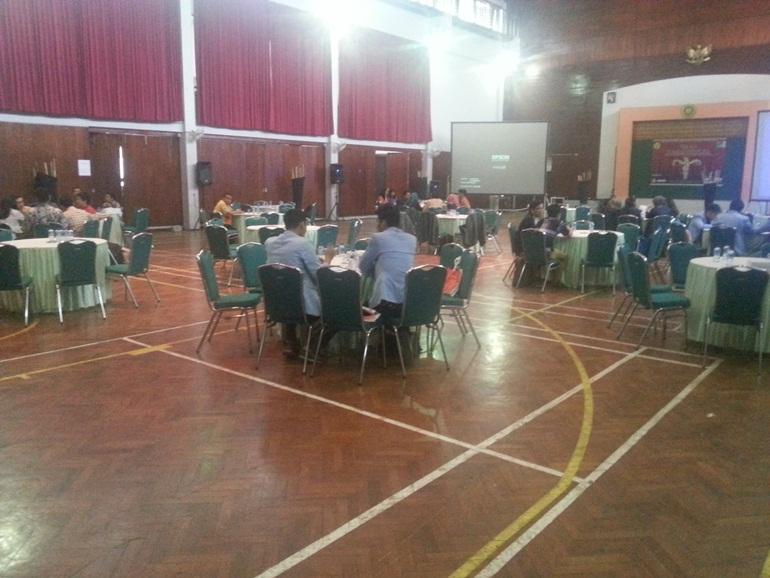 Suasana Dialog Kebangasaan yang berlangsung di GSG Selasa (28/10). MP/ Vincent Fabian