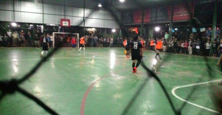 Gelaran Invitasi Futsal 2014 di lapangan OBC. MP/ Zico Sitorus