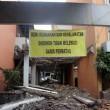 Suasana Gedung Serba Guna (GSG) Unpar saat proses perobohan, 20/4. Dok. MP