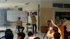 Debat Cakahim Teknik  Kimia Rabu (22/4) di lantai 1 Gedung 10. MP/ Vincent Fabian