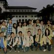 Persatuan Mahasiswa Unpar di halaman Gedung Sate, Kamis (21/5). dok MP