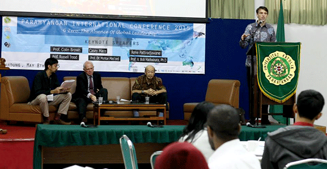 Parahyangan International Conference 2015 di Gedung Pascasarjana Unpar, Minggu (8/5) . dok. PIC 2015