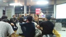 Suasana diskusi SOBERS. dok. Gilang.
