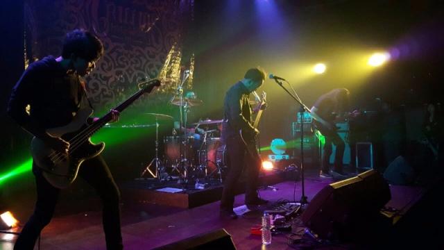 Acara perilisan album Griffins Holy Grove ini diberi tajuk Mala Release Showcase dan diselenggarakan di IFI Bandung, Jumat (12/12) lalu/dok. Axel Gumilar