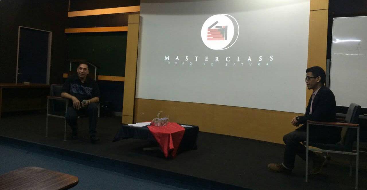 Hari-2 pre event Masterclass: Road to SATVRA 2016 pada Sabtu (13/2). Dok. PM Unpar