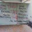 Pencoretan tembok di Lorong Hukum beberapa bulan yang lalu/dok. MP