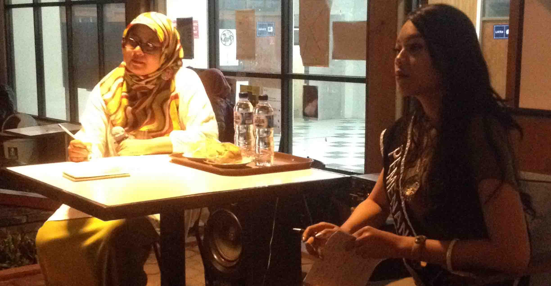 Diskusi Medusa di COOP SPACE membahas objektivikasi perempuan di media massa. Dok. MP/Denna