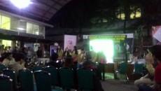 suasana debat FH yang dilaksanakan di Student Center Ekonomi /  Veronica Dwi Lestari