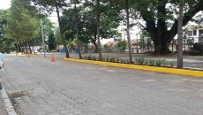 Parkiran Depan Rektorat Ditutup. dok/MP