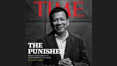 Cover Majalah TIME, The Punisher - Rodrigo Duterte. Dok/TIME