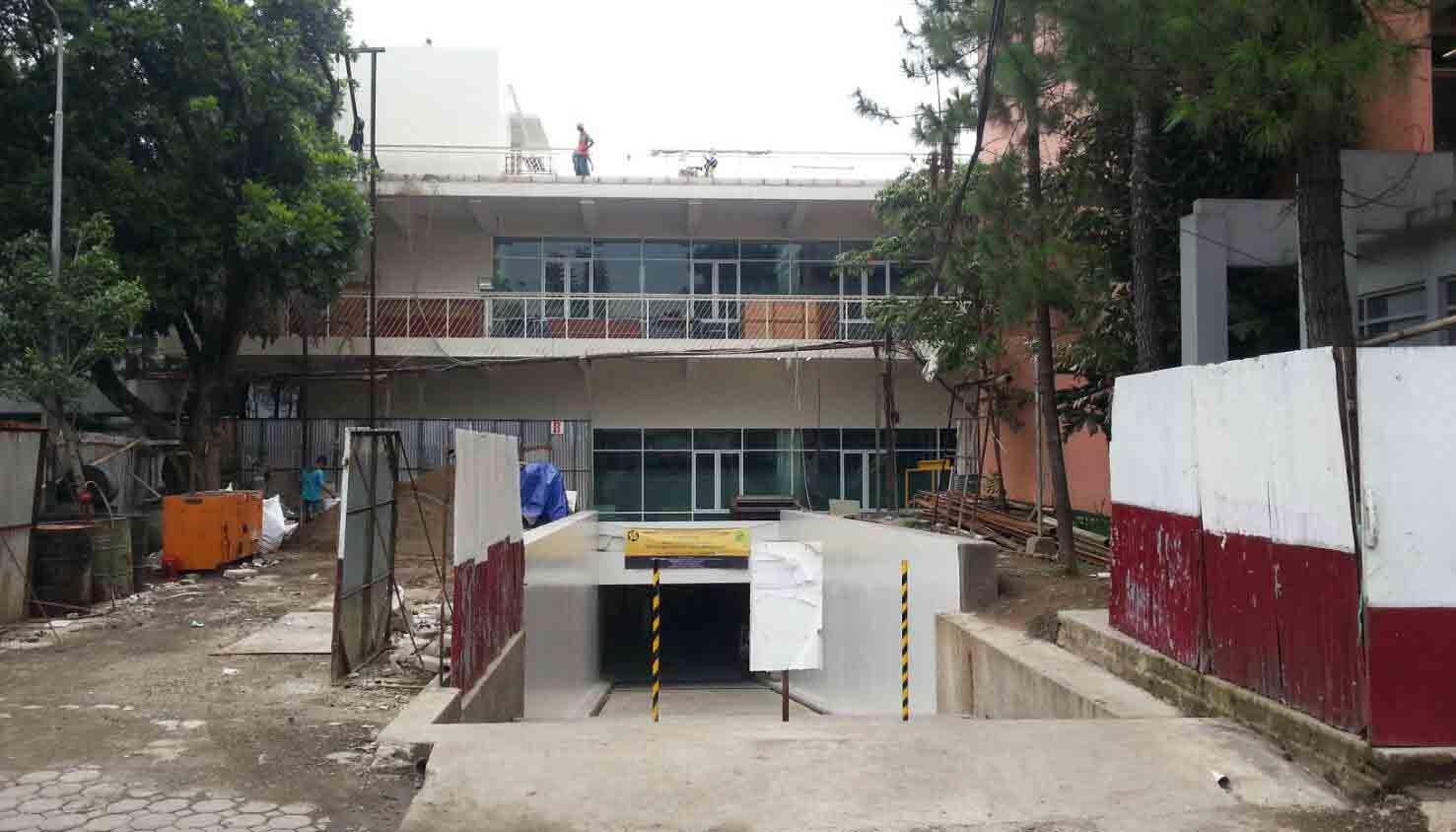 Gedung PPAG tahap 1 sementara digunakan untuk kelas dan ruang dosen Fakultas Teknik. Dok/MP
