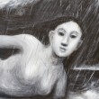 Ilustrasi Human Rain, Cloud. Dok/Kazuya-Akimoto/MP