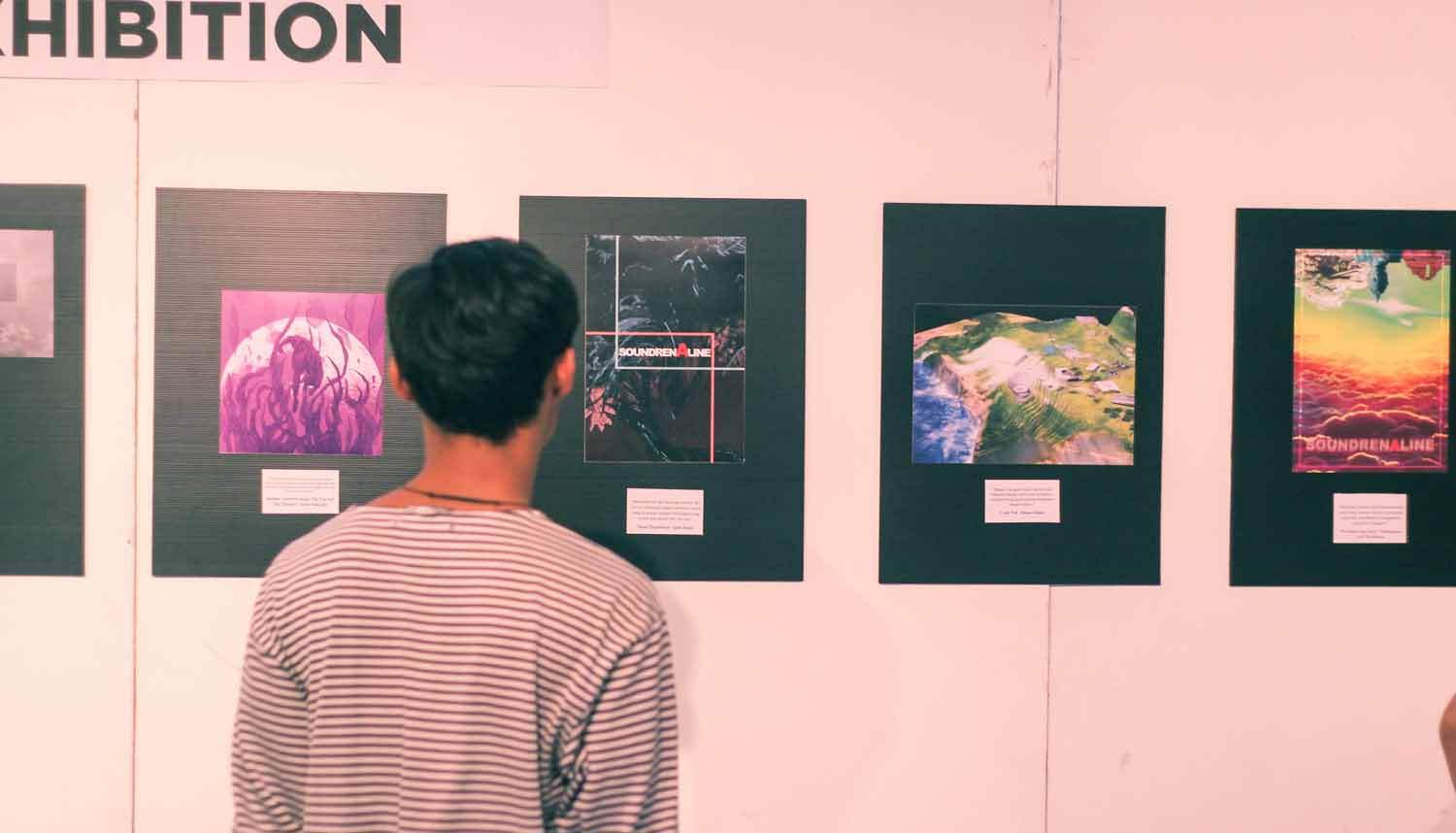 Pameran seni pada Alienation 3. Dok/ Project Vade.