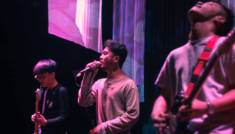 Salah satu penampilan band pada Project Vade, Alienation-3. Dok/Project Vade