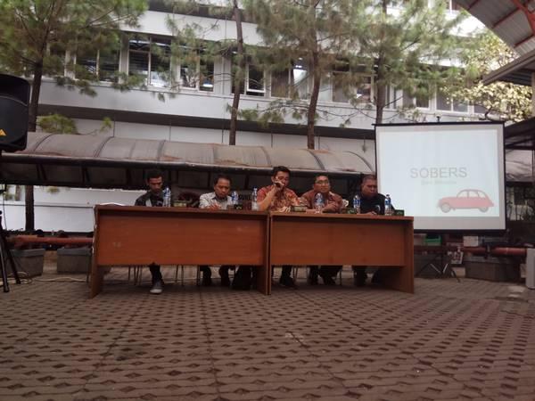 Diskusi Sore Bersama (SOBERS) yang dilaksanakan di Student Center Unpar. Dok/MP.