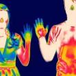 Ilustrasi Radiasi Termal - Who's Hands Are Warmer. Dok/ National Geographic