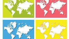 Peta Dunia. Dok/ Vecteezy