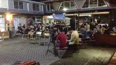 Suasana Debat cakahim Manajemen pada Rabu (19/4) lalu. Dok/ KPUPF Ekonomi