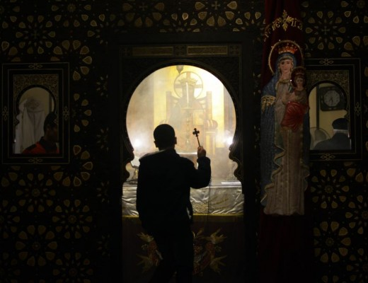 Egyptian Coptic Christians celebrate Christmas in Cairo, Egypt, on January 06, 2016. Doc. Mohamed el-Shahed/AFP/Getty Images/Observer.