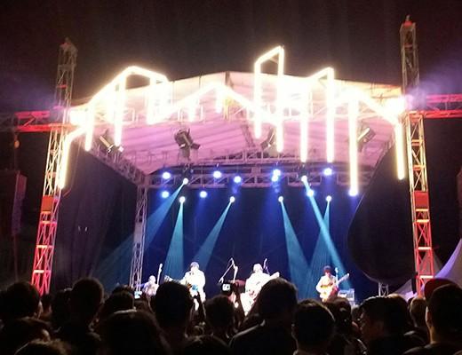 Festival Arsitektur Parahyangan 2017 yang diselenggarakan di Selasar PPAG mengangkat Kota Kampung sebagai tema acara. Dok/MP