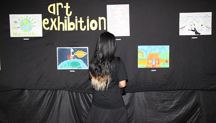 Pameran Lukisan Anak Panti Asuhan di PMKT UNPAR 2017. Dok/PMKT