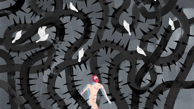 Ilusrasi Tolerantia - Kemampuan Menanggung Penderitaan dan Rasa Sakit. Dok/ Keith Negley