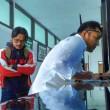 TAJI bersama Zaky Yamani mengajukan gugatan ke Pengadilan Hubungan Industrial Bandung Senin 21 Agustus 2017 lalu. Dok/KBR/Arie Nugraha.