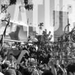 Suasana Karnaval Kemerdekaan di Jalan merdeka