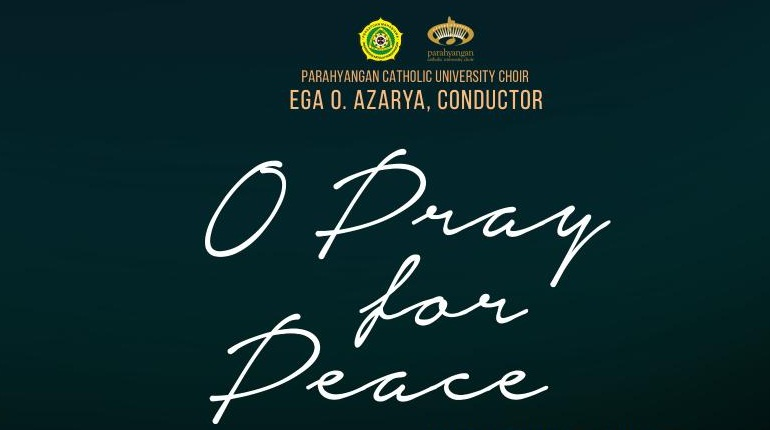 O Pray for Peace Digelar di Dua Kota