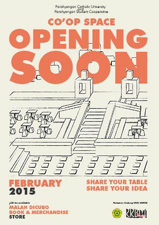Press Release – Opening Soon! Co'op Space by KKBM Unpar