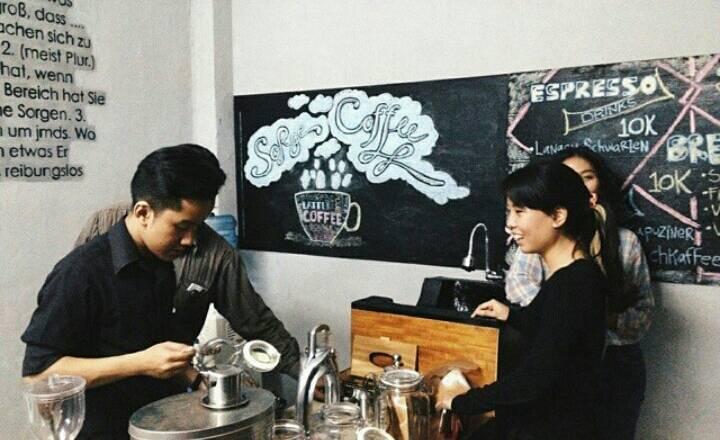 Devinisa: Sorge Coffee, Tempat Mewujudkan Gagasan Kreatif Mahasiswa