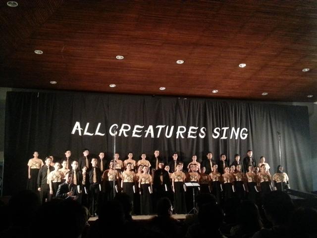 Dendang All Creatures Sing Menggema di Pasca Sarjana