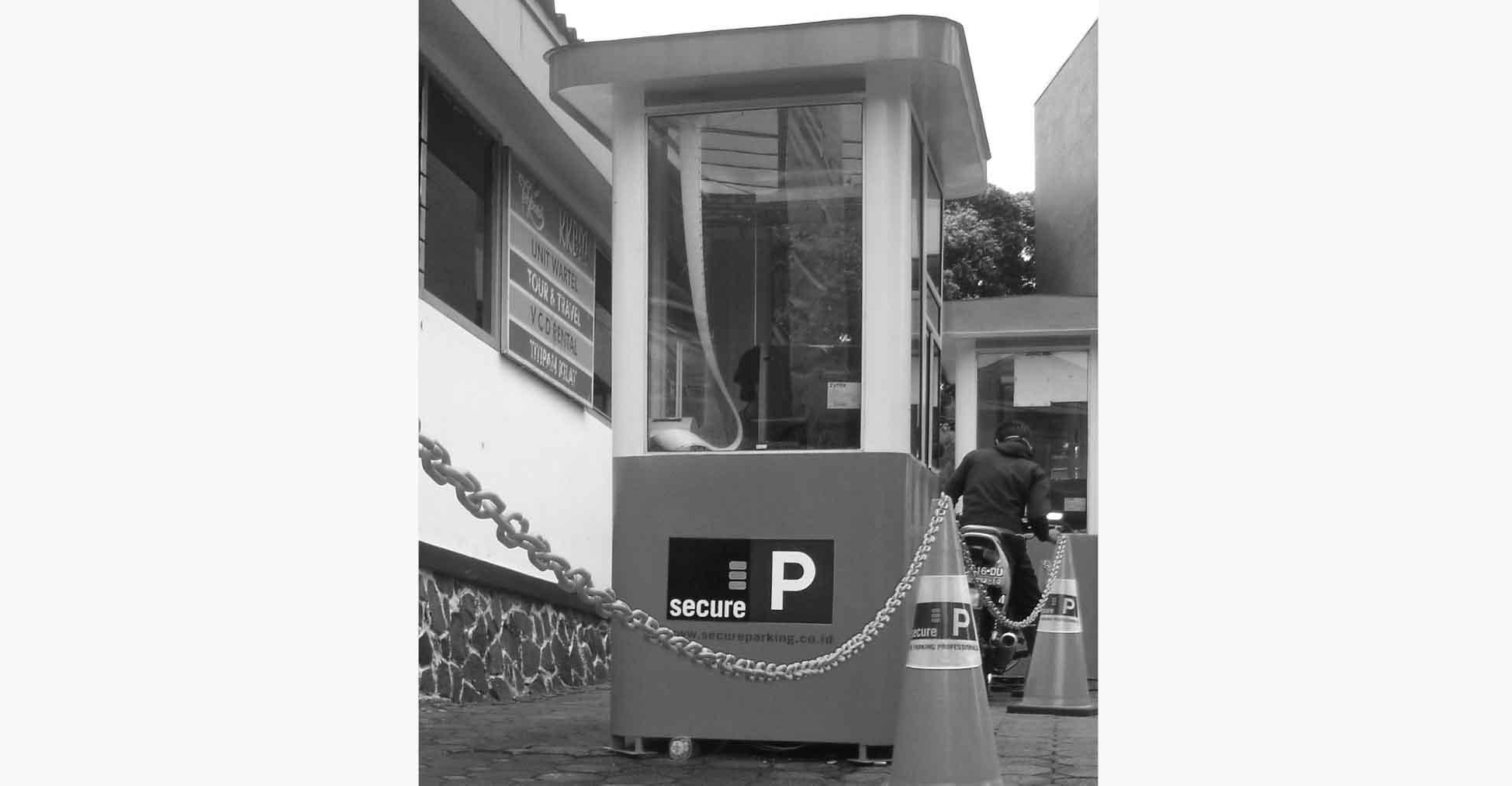 Box parkir secureparking Unpar. Dok/MP