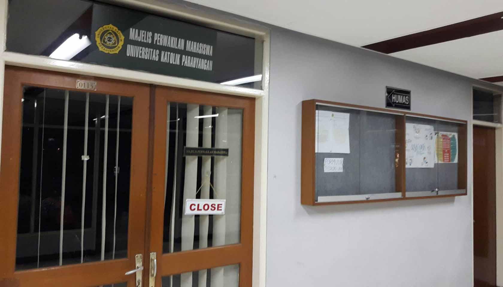 Pro-Kontra Mahasiswa UNPAR Terkait Pemindahan Ruangan MPM