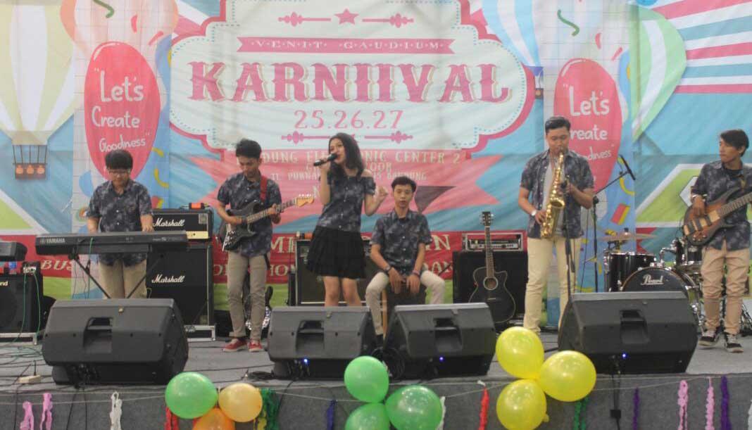 Lomba Band di Karnival 2016 Menjadi Kesan Tersendiri Bagi Juri