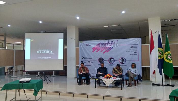 Ketua Ikatan Arsitek Indonesia Bahas RUU Arsitek Untuk Profesi Arsitek yang Bertanggung Jawab