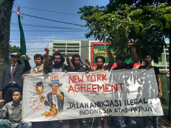 Diintimidasi, Front Rakyat Indonesia untuk West Papua dan Aliansi Mahasiswa Papua Tetap Gelar Aksi