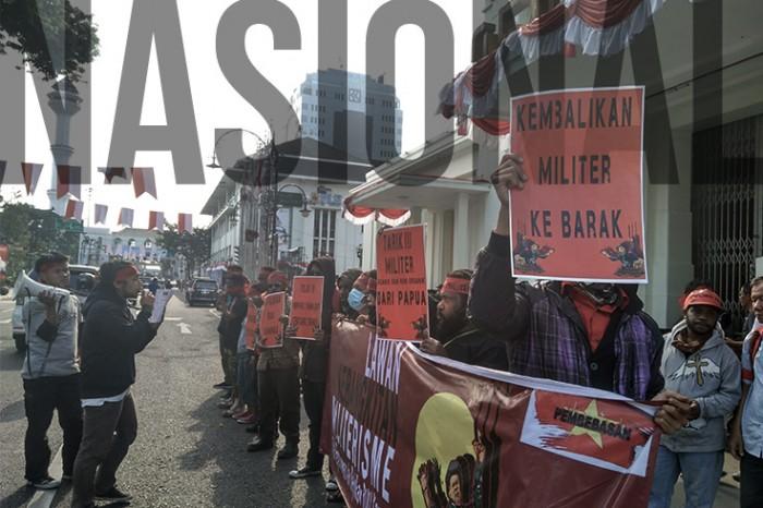 Gelar Aksi, Pusat Perjuangan Mahasiswa untuk Pembebasan Nasional Lawan Kebangkitan Militerisme
