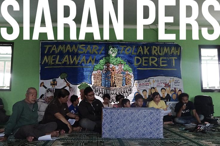 Forum Juang Tamansari Bandung: Menolak Rumah Deret Mempertahankan Hak Atas Ruang Hidup Yang Layak