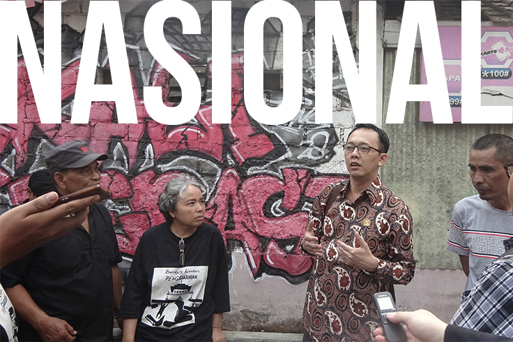 Tamansari Batal Digusur, Komnas HAM Minta Pemkot Bandung Bermediasi dengan Warga
