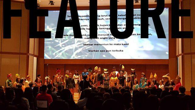 suasana konser PSM O Sapientia: A Voyage to Baltic Sea Competition