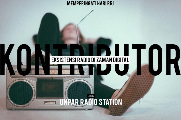 Eksistensi Radio di Zaman Digital