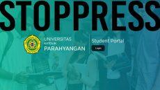 Tampilan baru Student Portal