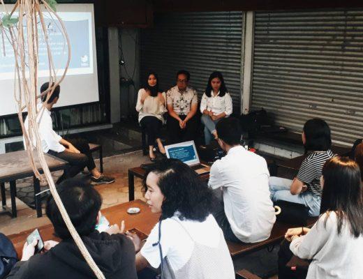 Suasana Diskusi bersama Tabu.ID memperingati Hari Penghapusan Kekerasan Terhadap Perempuan di Co-Op Space. Dok/MP.