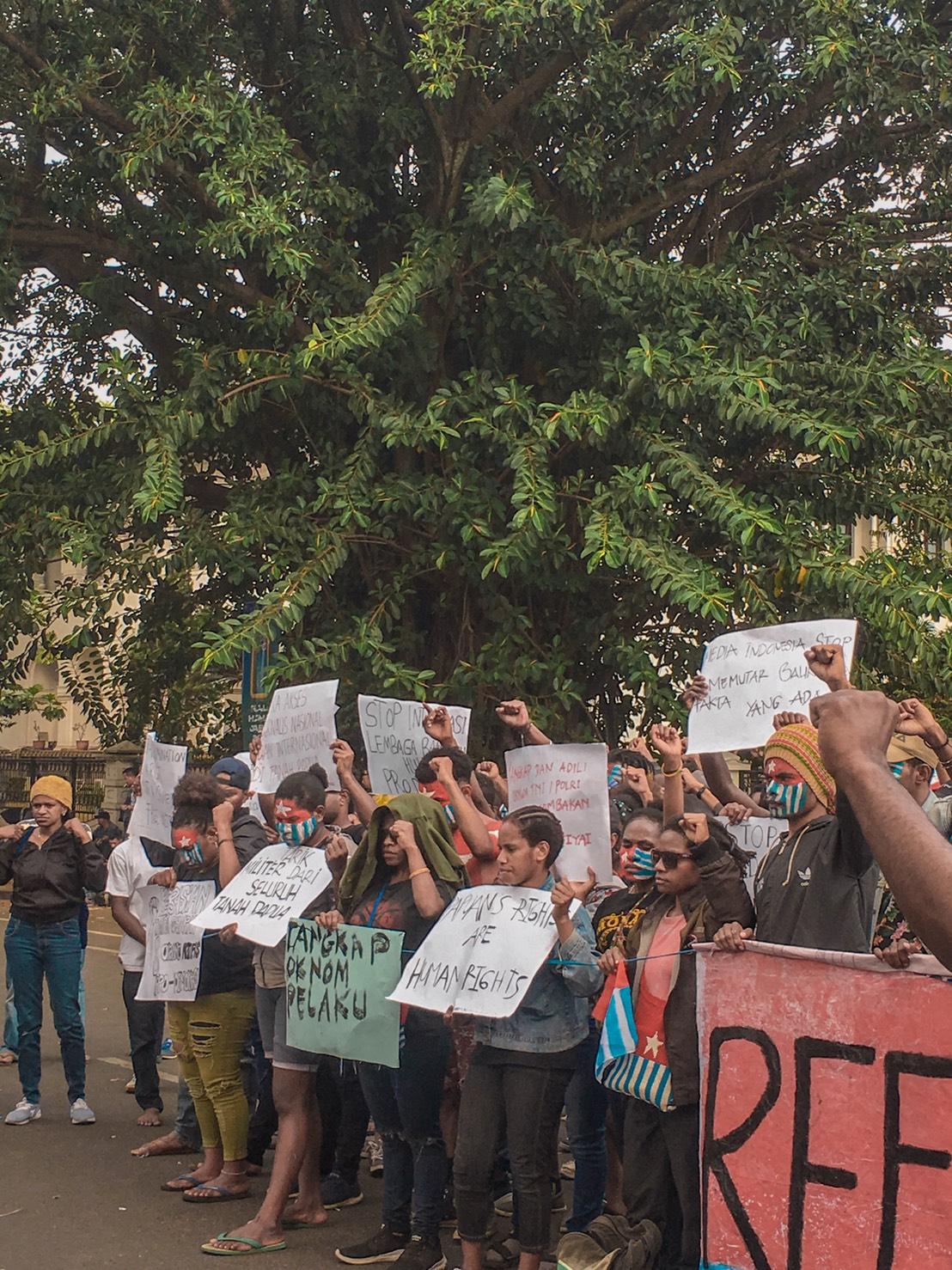 Papua Berhak Menentukan Nasibnya