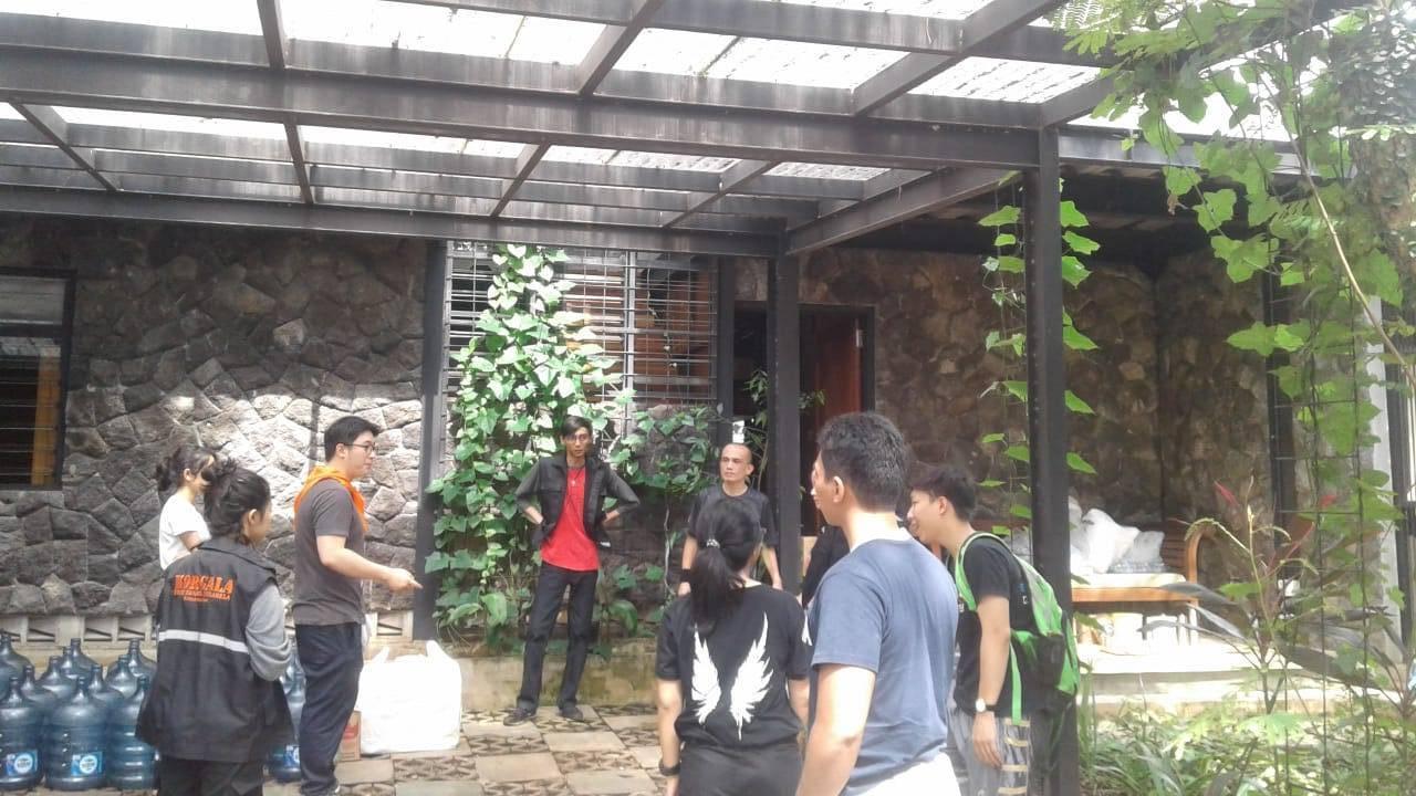 Korgala Turun Memberikan Bantuan Kepada Korban Banjir di Jakarta