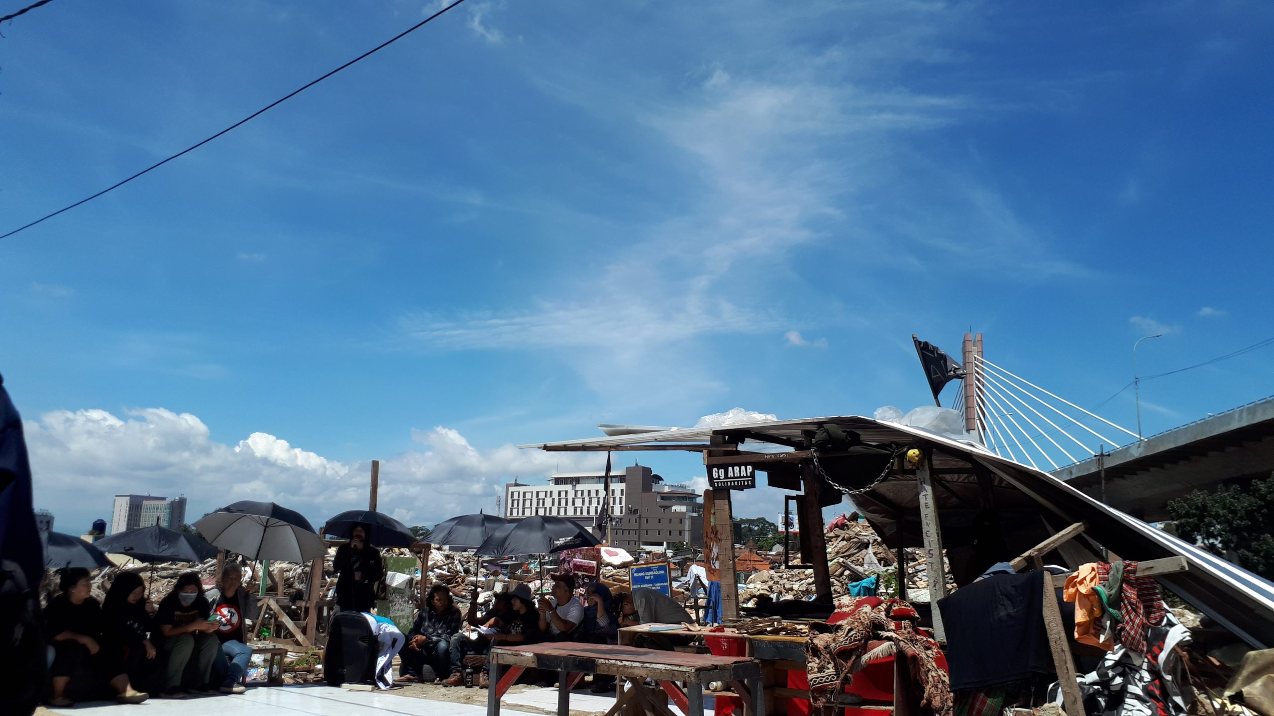 Warga Tamansari Menuntut Itikad Baik Pemkot Bandung